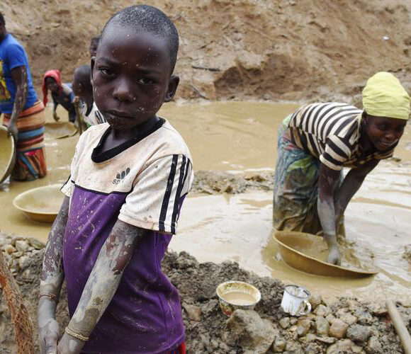 Protect abuse and Vulnerable children against violation and mining labor